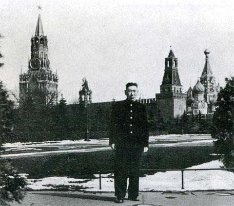 Г.В. Короходкин. Москва, 1958 год
