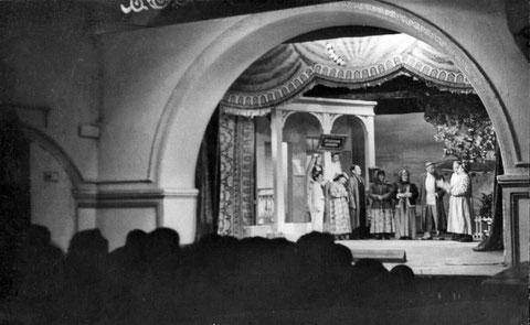 В зале Якутского музыкального драматического театра