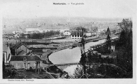 Vue générale 1910 Montargis