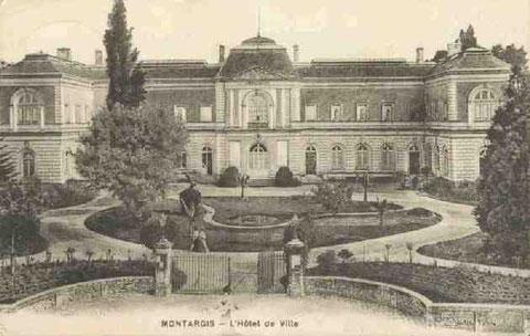 Hôtel de Ville Montargis