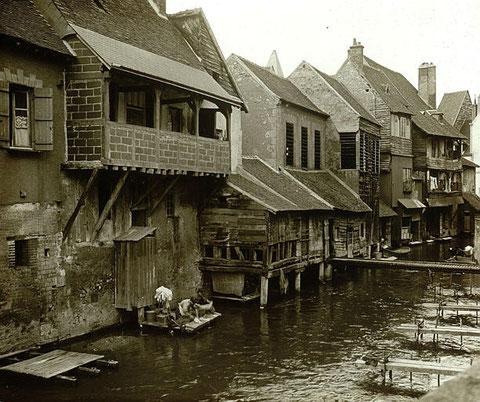 Les tanneries de Montargis 1910.