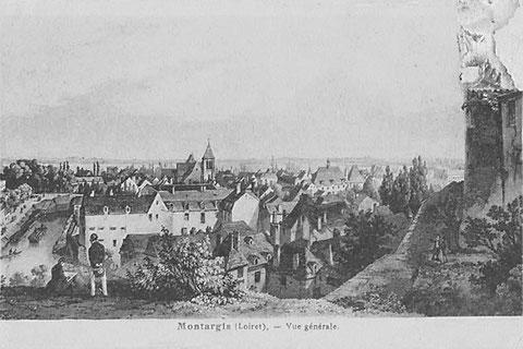 Vue panoramique du château vers 1900