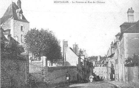 La poternes et rue du château 1910