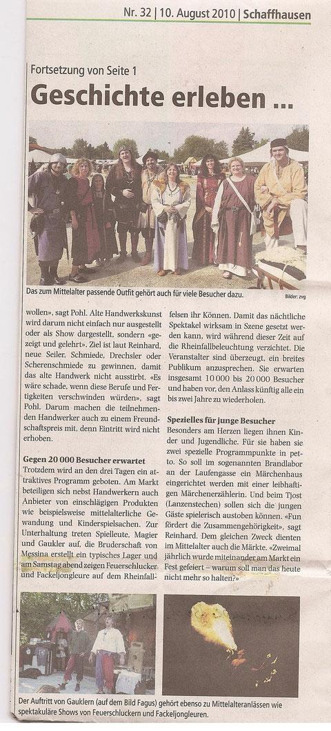 Schaffhauser Bock Teil 2