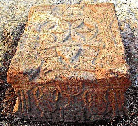 Der so genannte Magdala-Stein