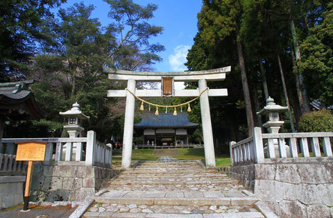 Jyuge Shrine in Shiga