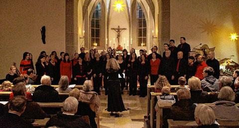 Weihnachtskonzert - Thalia-Chor - Salvatorkirche - 2015