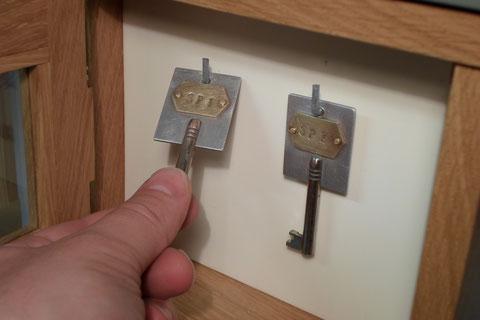 Schlüssel Gleissperrschuh