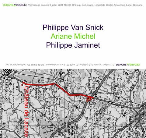 Philippe JAMINET Ariane MICHEL Philippe van SNICK  Château de Lacaze  (Lot et Garonne)