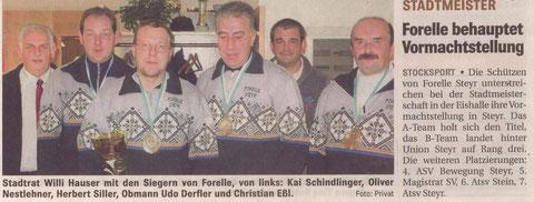 OÖ Nachrichten 17.11.2008