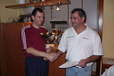 Sieger Christian Stockhammer und Obmann Udo Derfler