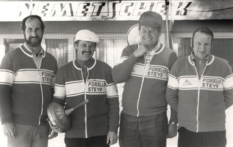 v.l. Kessel Erich, Kaiser Franz, Kessel Helmut und Pracherstorfer Karl jun.