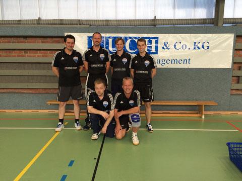 hinten v.l.n.r.: Hartmut, Steffen, Björn, Andreas; vorne v.l.n.r.: Rico, Joachim