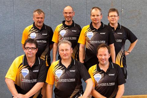 v.l.n.r.: hinten: Stefan Klett, Alexander Wiek, Axel Keller, Thomas Kurowsky; vorne: Thomas Ley, Frank Schrader, Steffen Hinz