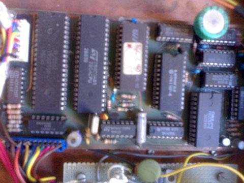 RTX Scheda dgitale con processore Z80