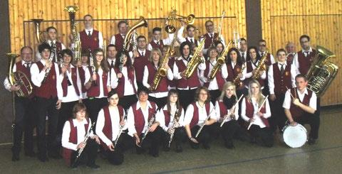 Das Orchester im Februar 2013