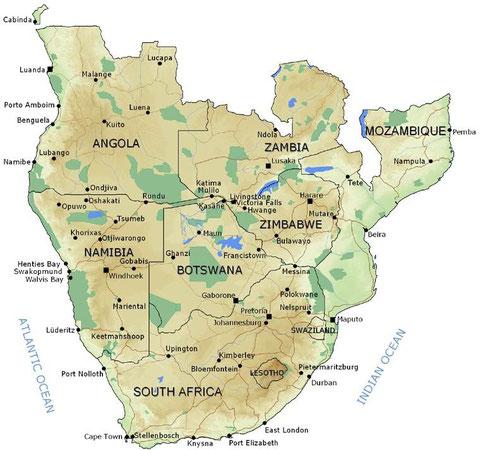 Das südliche Afrika