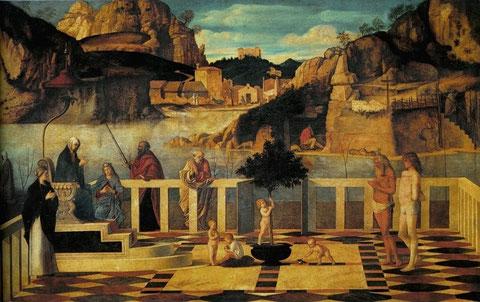 Alegoría Sacra,Giovanni Bellini, 1487