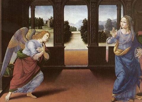 Anunciación.Lorenzo di Credi.1480
