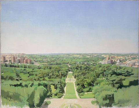 El campo del moro, 1990-94,óleo sobre lienzo adherido a tabla, colección privada.