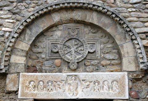 Pantocrator de Sant Andreu de Sureda; Rosellón