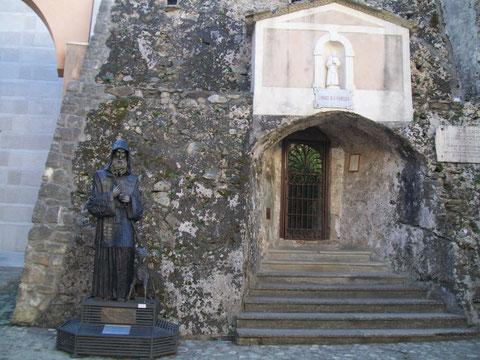 La Fornace con la Statua di San Francesco