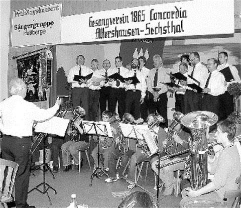 Frühjahrskonzert der Sängergruppe - Uraufführung - Altershäuser Heimatlied - 2005