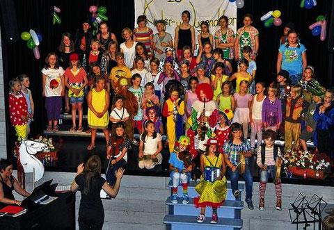 10 Jahre  Kinder- und Jugendchor - 2013