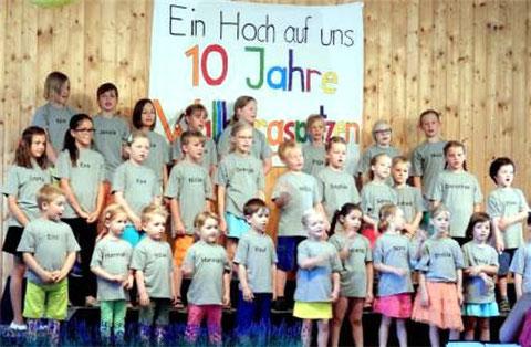10 Jahre Wallburgspatzen - 2015