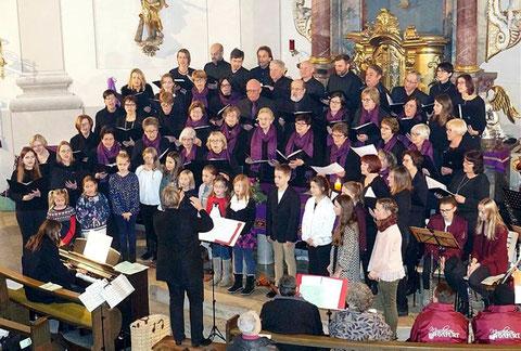 Adventskonzert 2017 - Leitung: Waltraud Hellwig