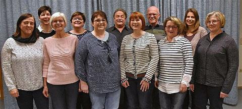 Die neue Vereinsführung - Ausschussgremium - 2018