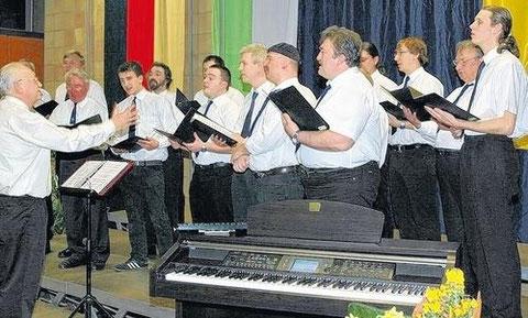 Jubiläumskonzert 50 Jahre SG Haßberge in Untertheres - 2010