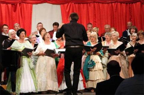 Auftaktkonzert zum Weinfest - 2015 - Chorleitung: Sebastian Franz