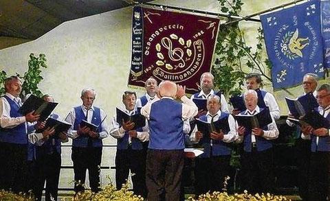 Liederabend in Ballingshausen - 2007