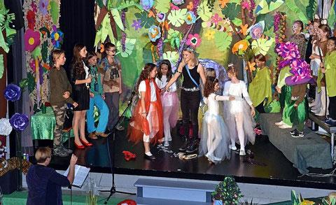 """Coole Kids/Teenie-Chor - Muscial """"Wimba ... und das Geheimnis im Urwald - 04-11-17"""