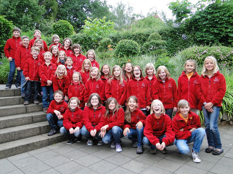 Kinderchor Wallburgspatzen - 2012