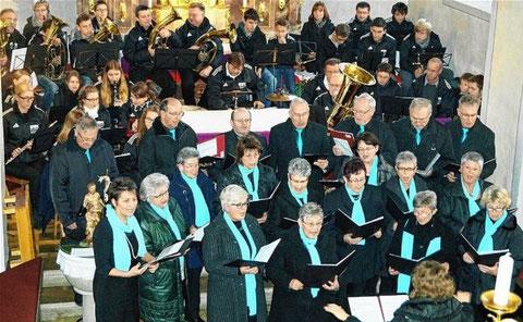 Wülflinger Weihnacht 2015 - Leitung: Tatjana Gorzny