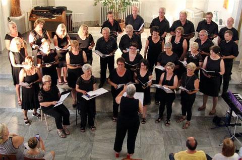 "Konzert ""Kleines Liebesgeflüster""  im Schloß - 26.06.2019  - Leitung: Andrea Lutsch"
