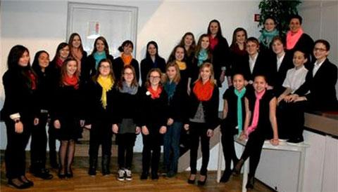 Jugendchor Cantarella -  2013