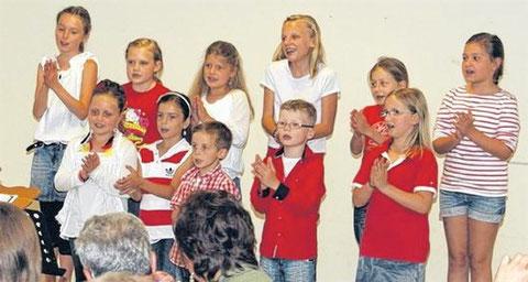 Kinderchor 2014 -Leitung: Christina Düring
