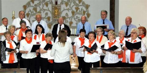 Jubiläumschor -  125 Jahre - Leitung: Katharina Lutsch - 2017