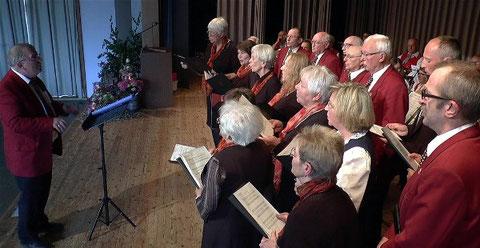 Chorgemeinschaft Goßmannsdorf -in Königsberg 2018 -Leitung: Johann Lauer