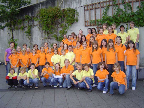 Kinderchor Wallburgspatzen - 2007