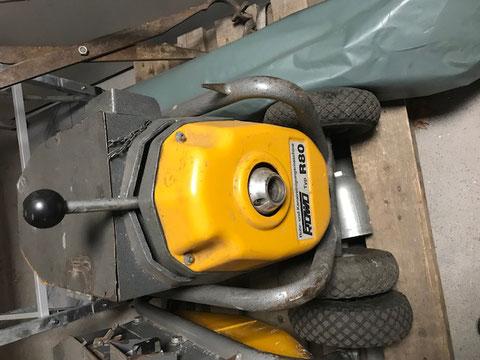Rohrreinigungsmaschine Rowo R80. Preis 1650FR.