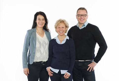 Anita Hardegger, Dagmar Völlinger, Marlon Floren