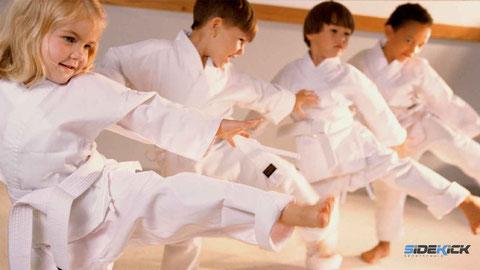 Kinder bei Mutiger in Friedrichshafen, Karate Friedrichshafen, Kickboxen Friedrichshafen, Kickboxen Langenargen, Kickboxen Bodensee, Kinder Langenargen, Kinder Bodensee, Kindergarten Bodensee, Kinderbetreuung
