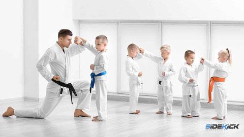 Kids bei Karate in Langenargen