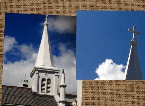 ☆青空と教室裏にある中町教会