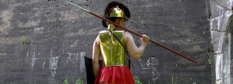 Krieger der Hallstattzeit um 600 v.Chr.