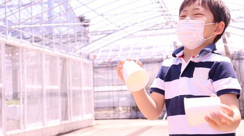 コンクリート、子供、晴れ、農園、工場、マスク、写真フリー素材 Concrete, kids, sunny, farms, factories, masks, photo-free materials